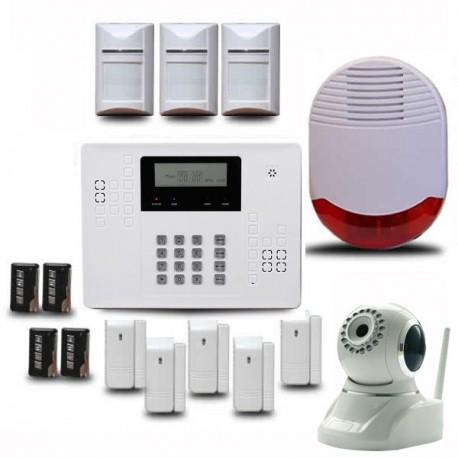 Alarme maison avec caméra de surveillance